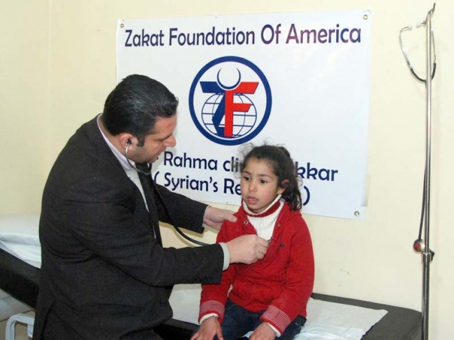 Al Rahma Clinic II Treats Over 10,000 Syrian Refugees