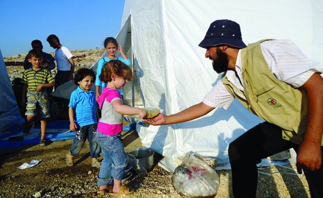 From the Field: The Strength of the Syrian Spirt Amid Conflict