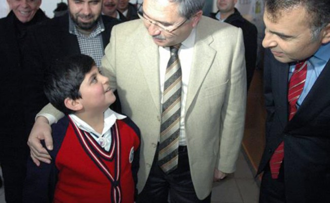 governor with kids