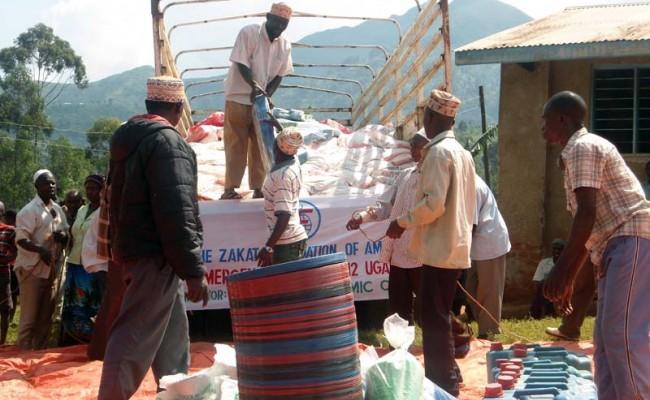 Bringing Relief to Landslide Victims in Uganda
