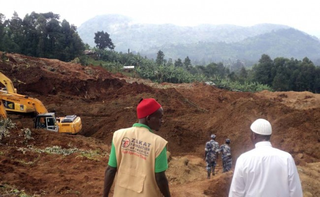 Bringing Relief to Landslide Victims in Uganda