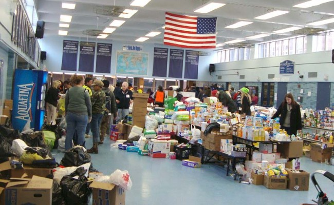 Hurricane Sandy: Bringing Services to Local Victims