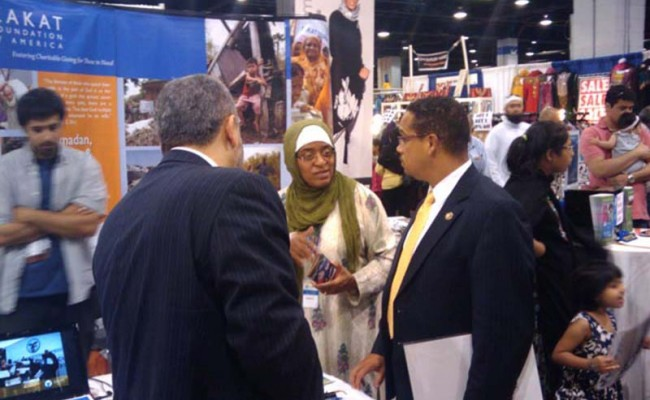 Zakat Foundation of America Participates in the ISNA Convention