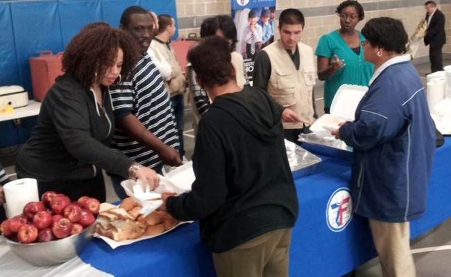 ZF Shares Thanksgiving Meals with Victims of Hurricane Sandy