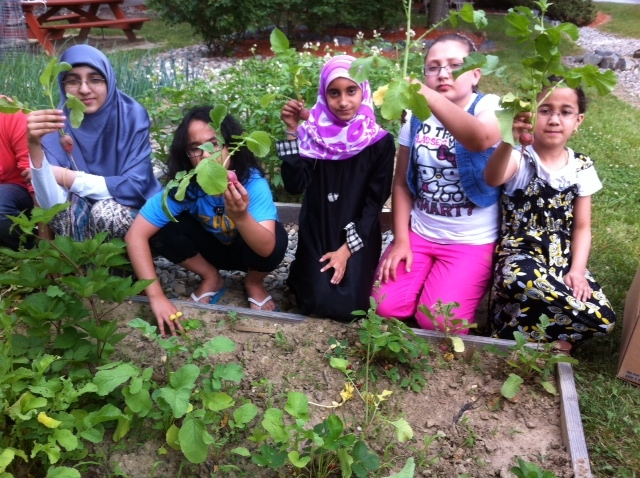 Growing hope in our own front yard with the Zakat Foundation of America