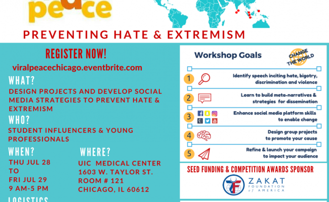 ZF Joins Viral Peace to Prevent Hate and Extremism