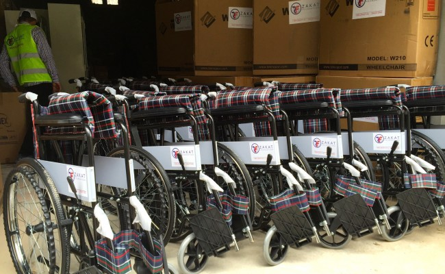 wheelchairs from zakat
